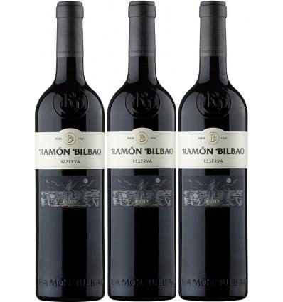 RAMÓN BILBAO Reserva Caja 3 botellas