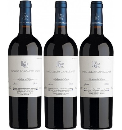 PAGO DE LOS CAPELLANES Roble Caja 3 Botellas