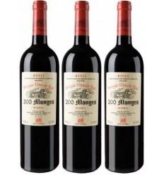 200 Monges Reserva Caja 3 Botellas