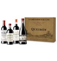 QUEIRON ESTUCHE 4 BOTELLAS