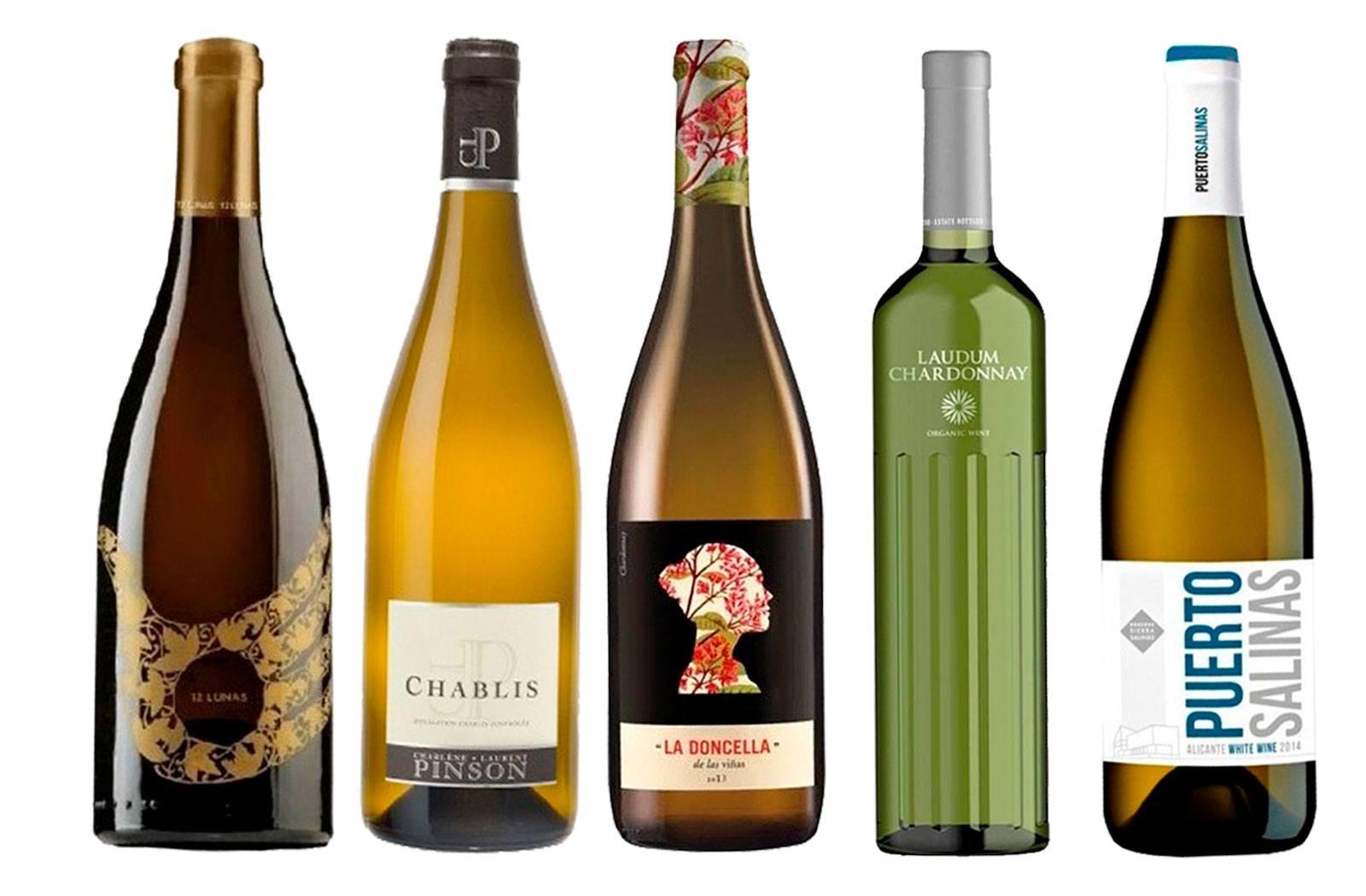 El mejor vino con uva chardonnay