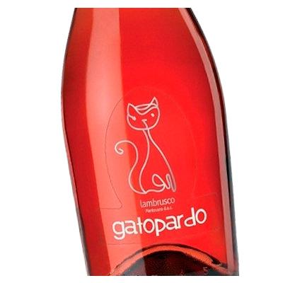 Etiqueta vino GatoPardo en Vinorea