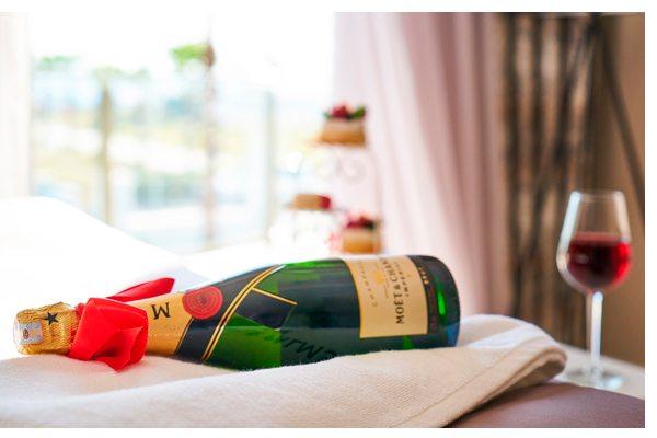 Moët & Chandon champagne para San Valentín
