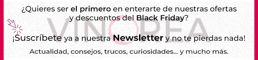 Suscríbete a la Newsletter de Vinorea