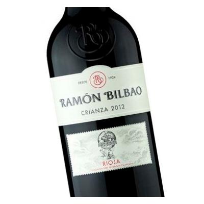 Etiqueta vino Ramón Bilbao en Vinorea