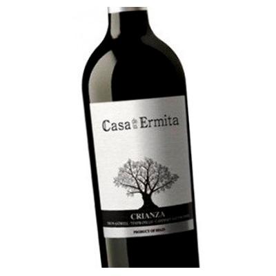 Etiqueta vino Casa de la Ermita en Vinorea