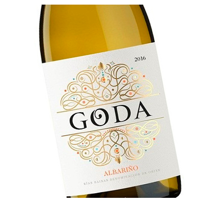 Etiqueta vino Goda en Vinorea