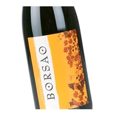 Etiqueta vino Borsao en Vinorea