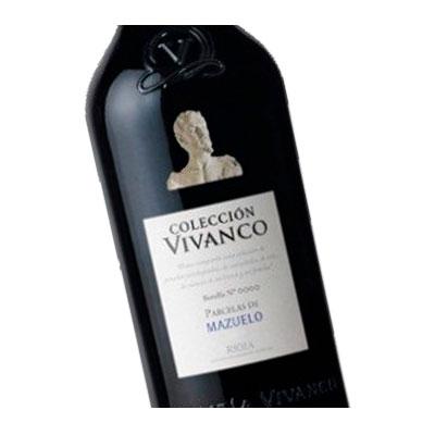 Etiqueta vino Vivanco en Vinorea