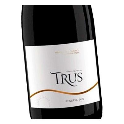 Etiqueta vino Trus en Vinorea