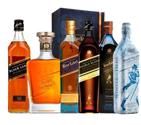 Compra el mejor whisky Johnnie Walker en Vinorea