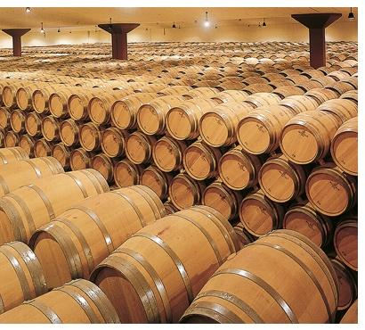 Barriles Bodegas El Coto de Rioja